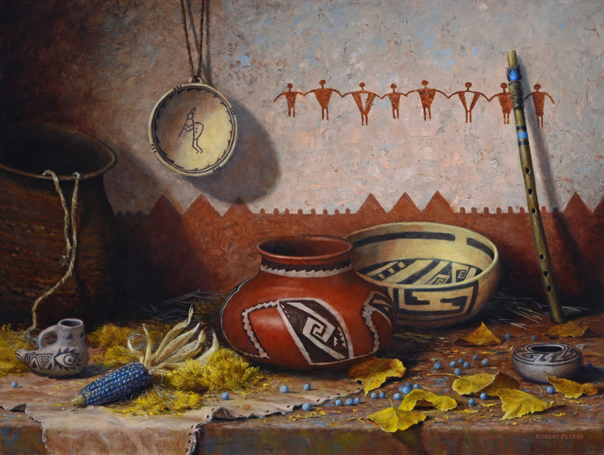 """Robert Peters """"Autunm Song"""" 18x24 oil on linen - Available at the Prix de West"""