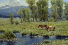 """Robert Peters """"Midsummer Idyll"""" 30x34 oil - Private collection"""