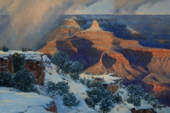 "Robert Peters ""Hush of Time, Grand Canyon"" 40x60 - Legacy Gallery"