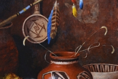 """""""Promise of the Prayer Stick"""" 20x16 oil - Private Collection"""