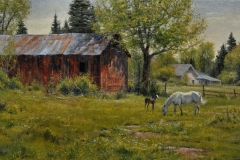 """Robert Peters """"Sweetness"""" 30x50 oil - Private Collection"""