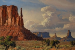 """""""The American Southwest"""" 30x40 oil - Permanent Collection Booth Museum"""