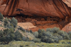 "Robert Peters ""Wonders of the West"" 30x54 oil - Private Collection"