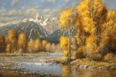 Robert Peters - Autumn Brook