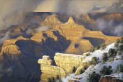 Robert Peters - March Yavapai Point Grand Canyon