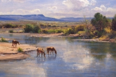Robert Peters - On the Little Colorado